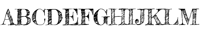 Fredericka the Great regular Font UPPERCASE