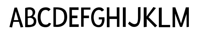 Fresca regular Font UPPERCASE