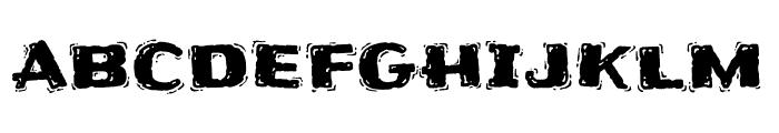 Frijole regular Font LOWERCASE