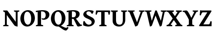 Gentium Book Basic 700 Font UPPERCASE