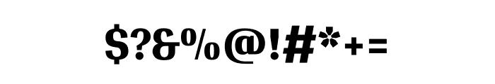 Gidugu regular Font OTHER CHARS