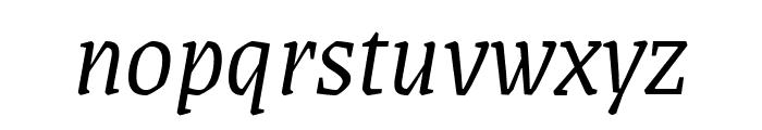 Grenze 300italic Font LOWERCASE