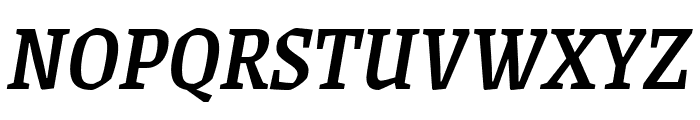 Grenze 500italic Font UPPERCASE