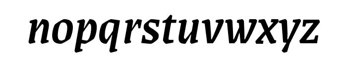 Grenze 500italic Font LOWERCASE