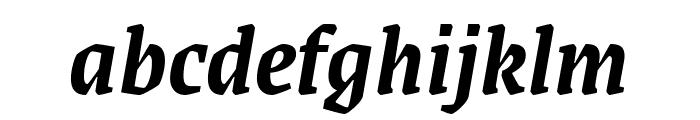 Grenze 600italic Font LOWERCASE