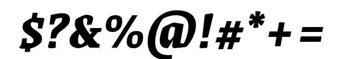 Grenze 800italic Font OTHER CHARS