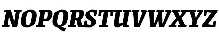 Grenze 800italic Font UPPERCASE