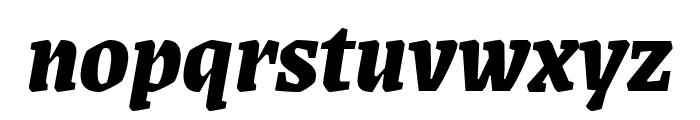 Grenze 800italic Font LOWERCASE