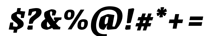 Grenze 900italic Font OTHER CHARS