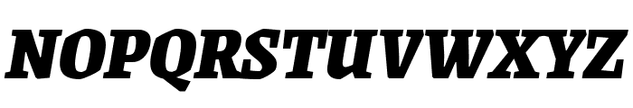 Grenze 900italic Font UPPERCASE