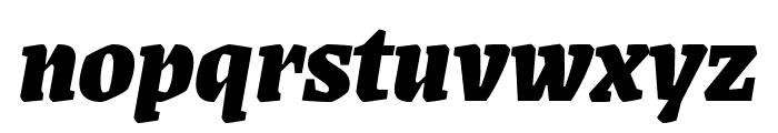 Grenze 900italic Font LOWERCASE
