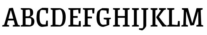 Grenze regular Font UPPERCASE