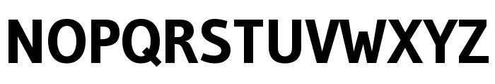 Gudea 700 Font UPPERCASE