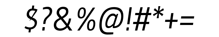 Gudea italic Font OTHER CHARS