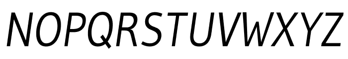Gudea italic Font UPPERCASE