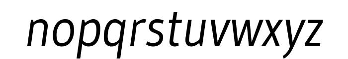 Gudea italic Font LOWERCASE