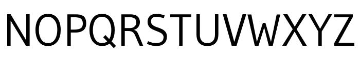Gudea regular Font UPPERCASE