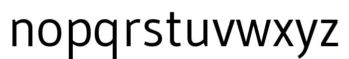 Gudea regular Font LOWERCASE
