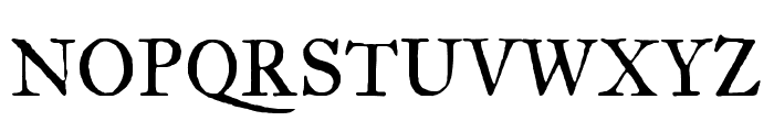 IM Fell Great Primer SC regular Font UPPERCASE