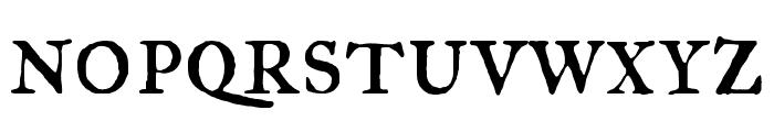 IM Fell Great Primer SC regular Font LOWERCASE