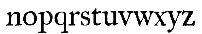 IM Fell Great Primer regular Font LOWERCASE