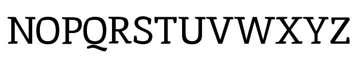 Inika regular Font UPPERCASE