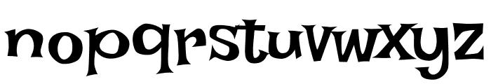 Irish Grover regular Font LOWERCASE