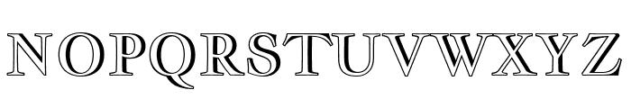 Jacques Francois Shadow regular Font UPPERCASE