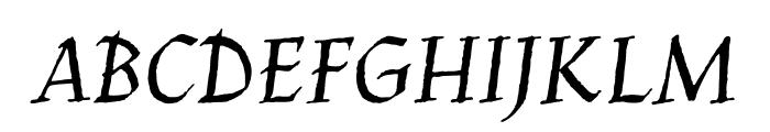 Jim Nightshade regular Font UPPERCASE