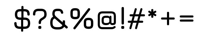Jura 600 Font OTHER CHARS