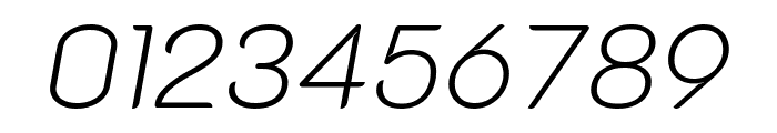 K2D 100italic Font OTHER CHARS
