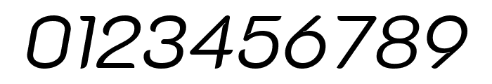K2D 300italic Font OTHER CHARS