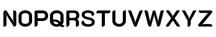 K2D 700 Font UPPERCASE