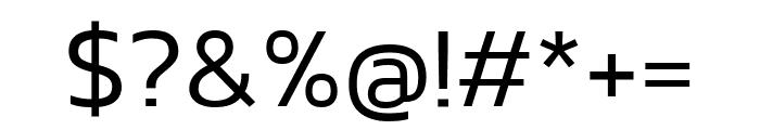 Kanit 300 Font OTHER CHARS
