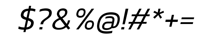 Kanit 300italic Font OTHER CHARS