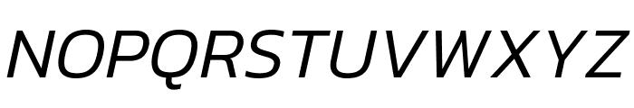 Kanit 300italic Font UPPERCASE