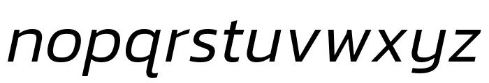 Kanit 300italic Font LOWERCASE