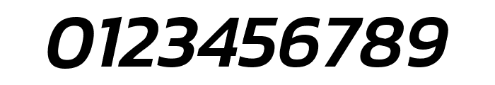 Kanit 500italic Font OTHER CHARS