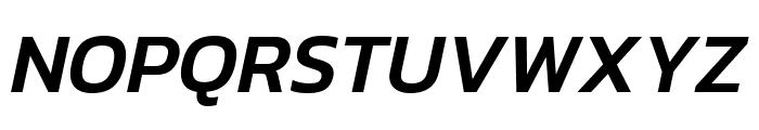 Kanit 500italic Font UPPERCASE