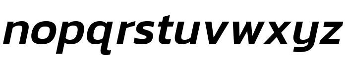 Kanit 500italic Font LOWERCASE