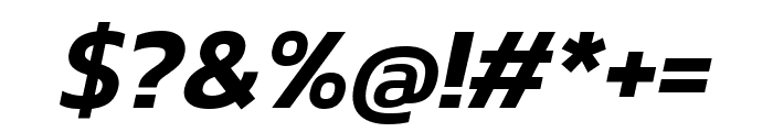 Kanit 600italic Font OTHER CHARS