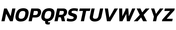 Kanit 600italic Font UPPERCASE
