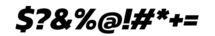 Kanit 700italic Font OTHER CHARS