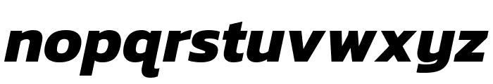 Kanit 700italic Font LOWERCASE