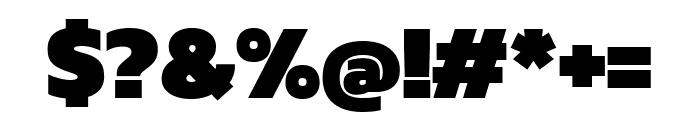 Kanit 900 Font OTHER CHARS