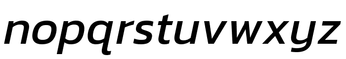 Kanit italic Font LOWERCASE