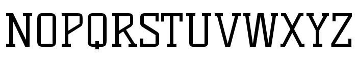 Kelly Slab regular Font UPPERCASE
