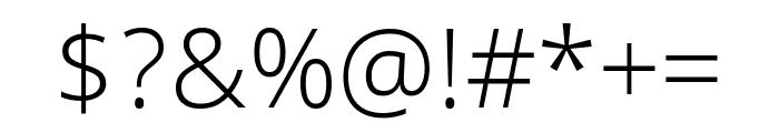Khula 300 Font OTHER CHARS