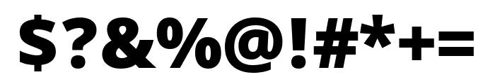 Khula 800 Font OTHER CHARS
