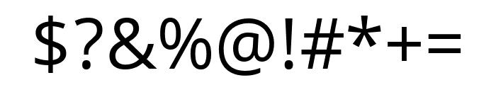 Khula regular Font OTHER CHARS